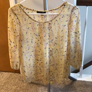 Yellow Papermoon blouse